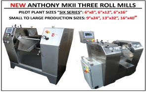 Three Roll Mills